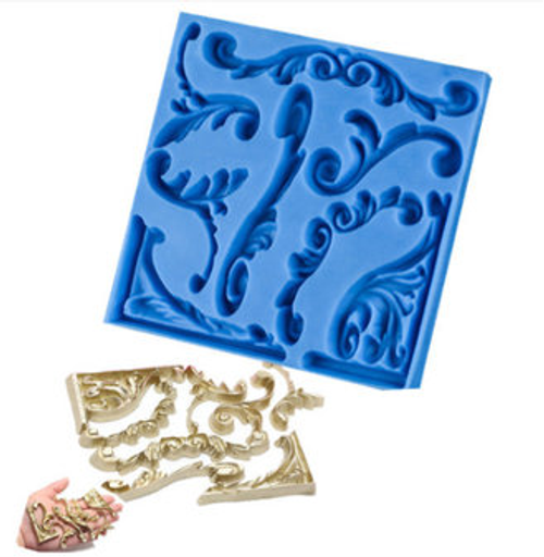 Fancy scroll Mold -PM416