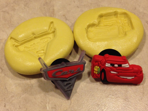 Cars the Movie Mini Mold set Silicone