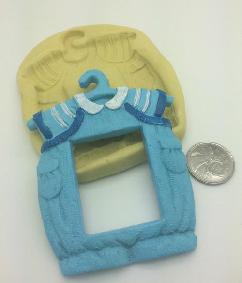 Xl  Baby Boy clothes Frame  Silicone Mold