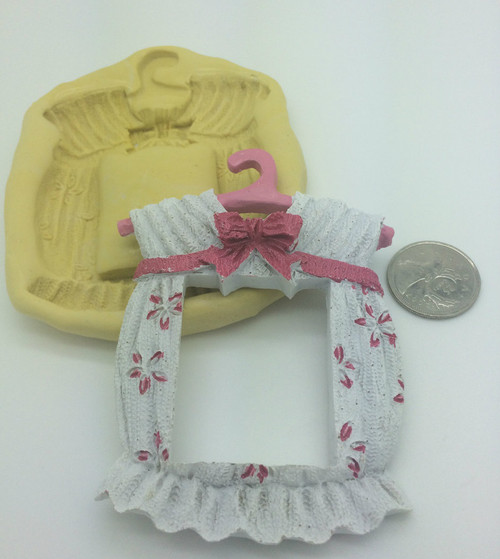Xl  Baby Girls Dress  clothes Frame  Silicone Mold