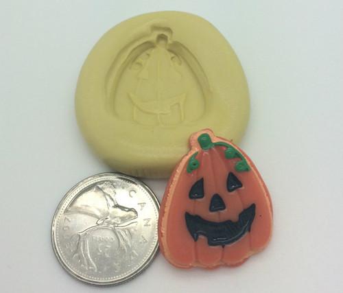 Pumpkin Face Jack o lantern Silicone Mold