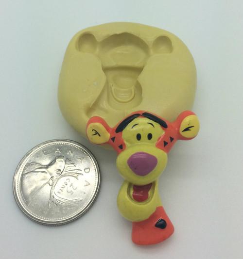 Winnie the poo Tigger Silicone Mold