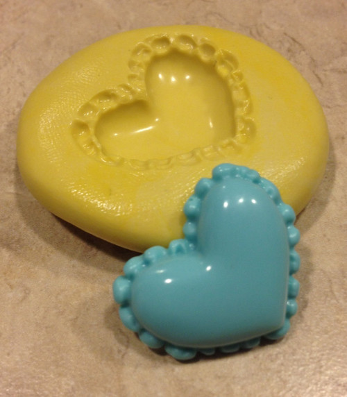 Cute Heart Mold Silicone