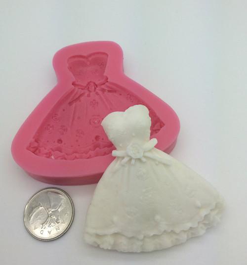 Dress Wedding  Mold  PM273