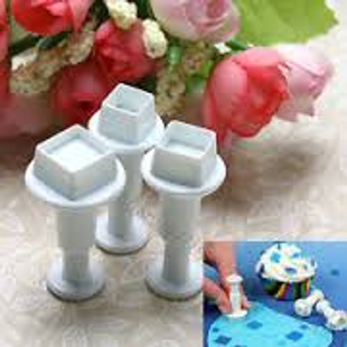 Small Square Plunger Set