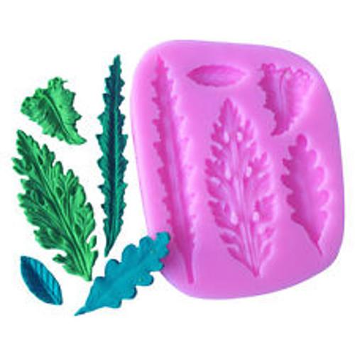 Leaf 5pc Silicone Mold