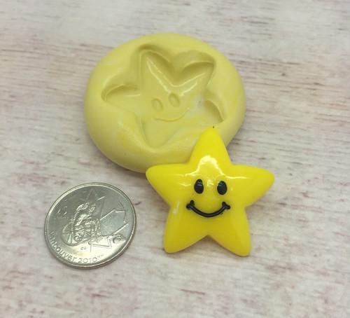Happy Star Silicone Mold