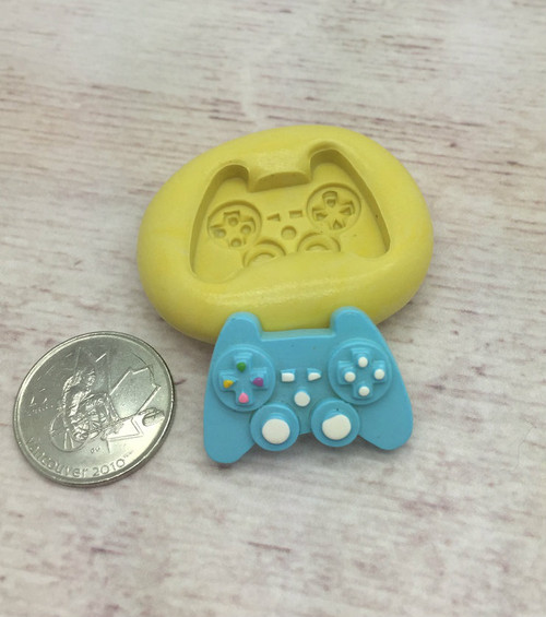 Mini Video Game Controller  Silicone Mold