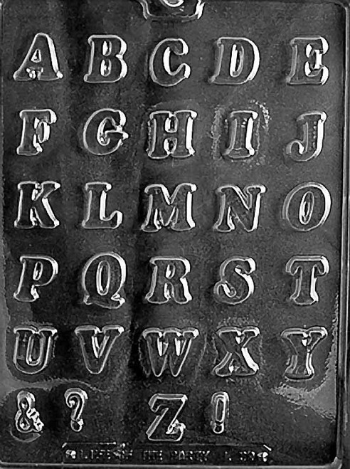 LETTERS A-Z SMALL