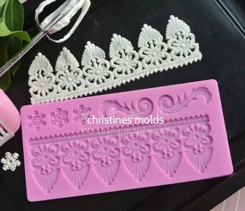 Lace Silicone Mold Set -PM122
