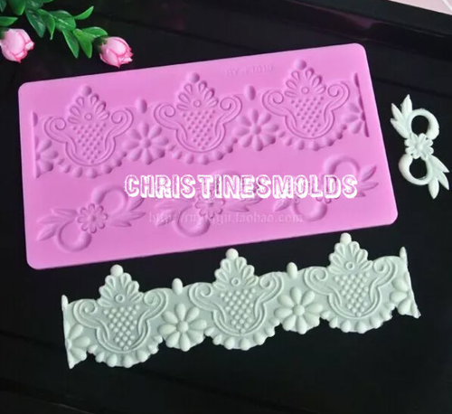 Lace Silicone Mold Set PM125
