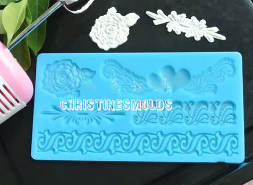 Lace Silicone Mold Set -PM126