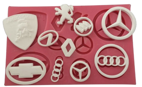 Car Theme Silicone Mold Set - PM114