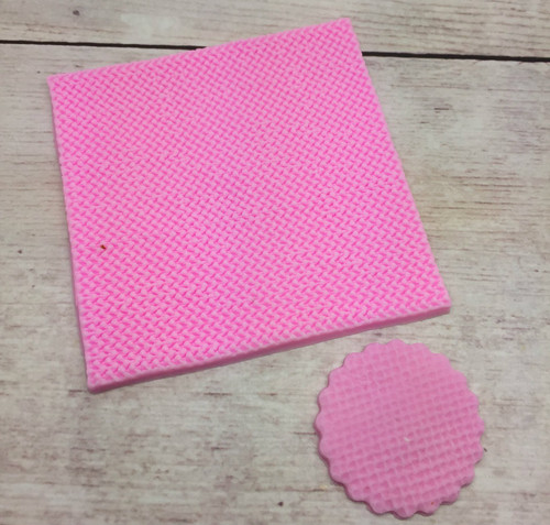 Impression Knit  Silicone Mold Mat-pm106