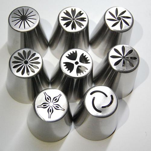 8pc Xl  Decorating Tips Set