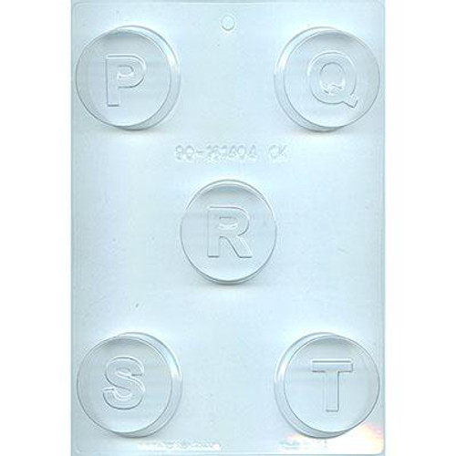 Cookie Mold Letters  P,Q,R,S,T