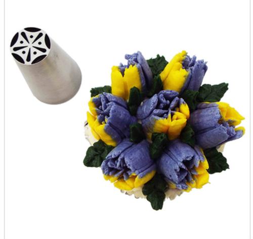 Spring Tulip Bloom Flower Decorating Tip
