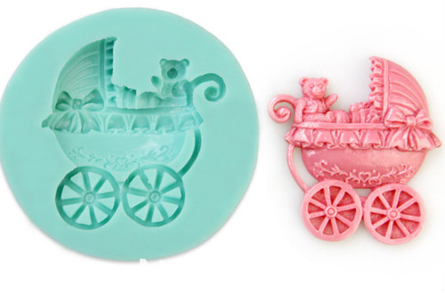 Large Baby Carriage Mold
