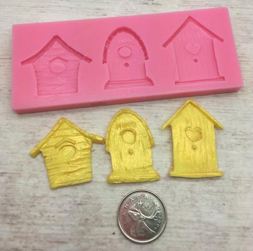 Bird House Silicone Mold Set