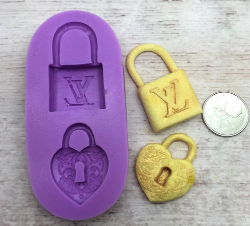 Locket  Silicone Mold Set PM150