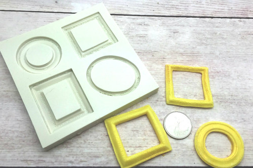 Frame Silicone Mold PM483