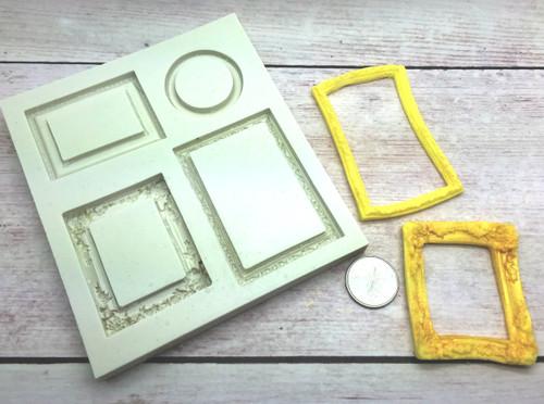 Frame Silicone Mold Set #10