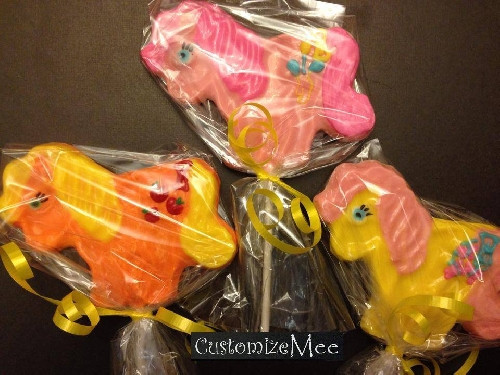LITTLE PONY Lolli Mold