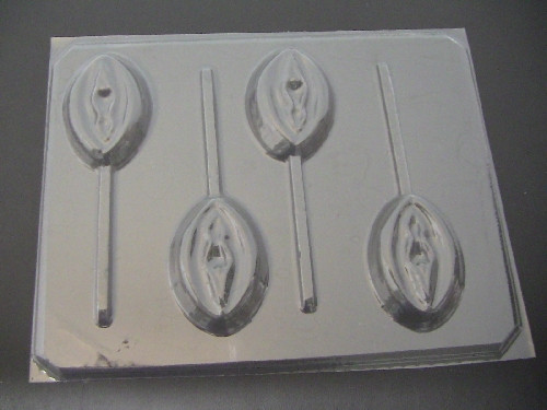 V CHOCOLATE  Lolli Mold