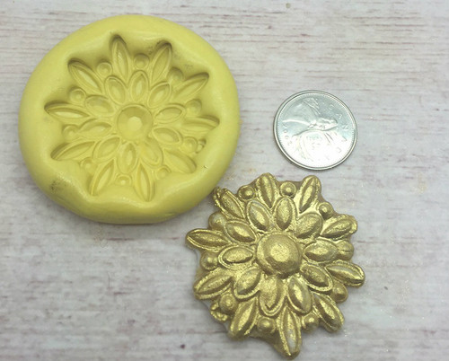 Medium Brooch Silicone Mold