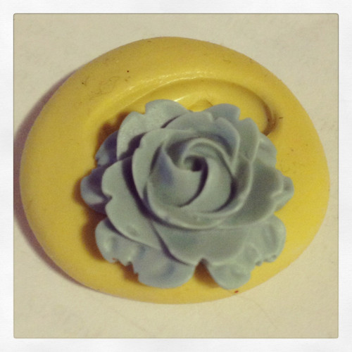 Small Rose Flower Mold  Silicone