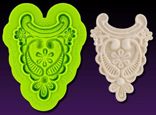 """Peggy"" Enhanced Lace Marvelous Molds"
