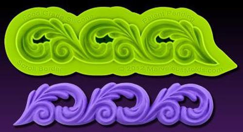 Scroll Border  Marvelous Molds