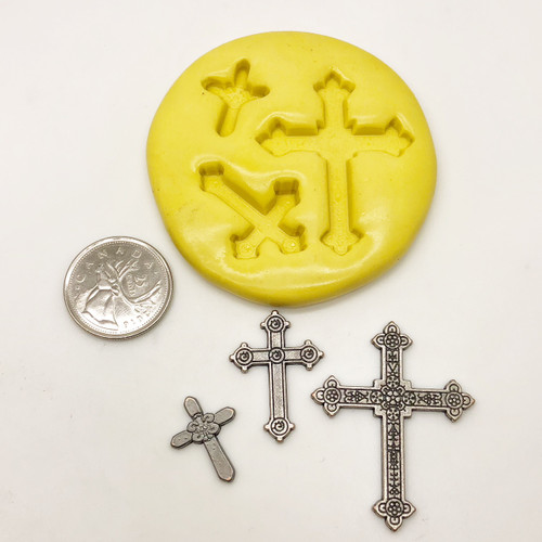 3 Piece Cross Set Silicone