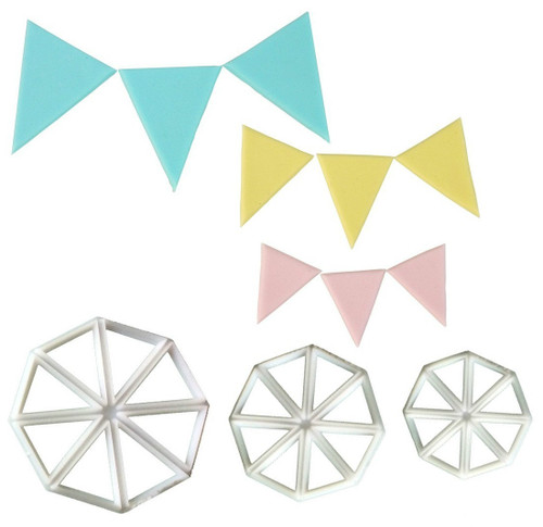 EASY BUNTING CUTTER SET of 3