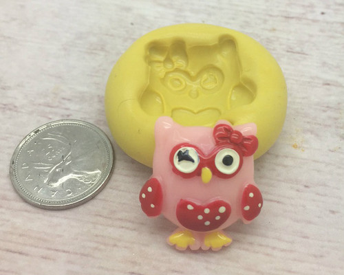 Cute Owl Silicone mold