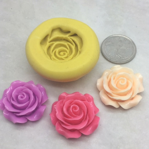 Medium Rose Mold  Silicone