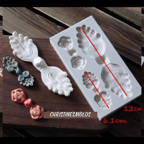 Decorative Accent Silicone Mold