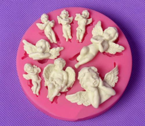 Cherub , Angel Silicone Mold Set