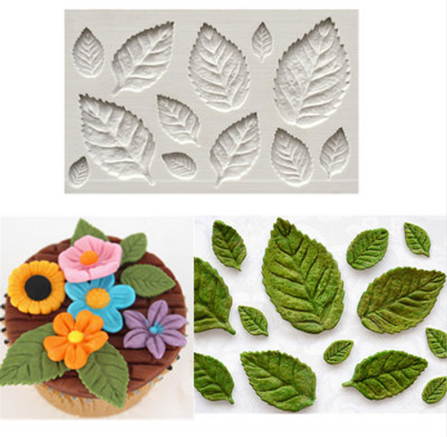 Leaves Flower Mold PM426