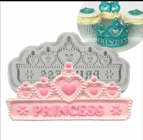 Princess Tiara , Crown Silcione Mold