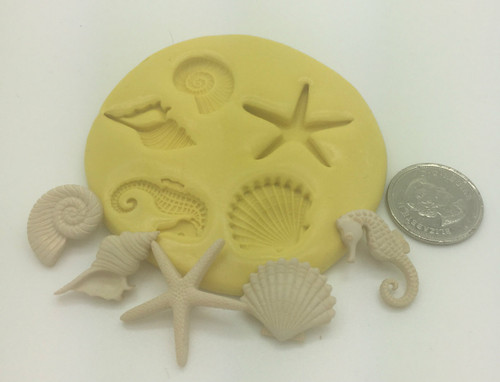 Sea Shell New  Silicone Mold Set