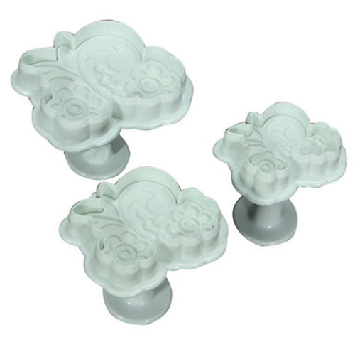 Fancy Lace Plunger Set 3pc