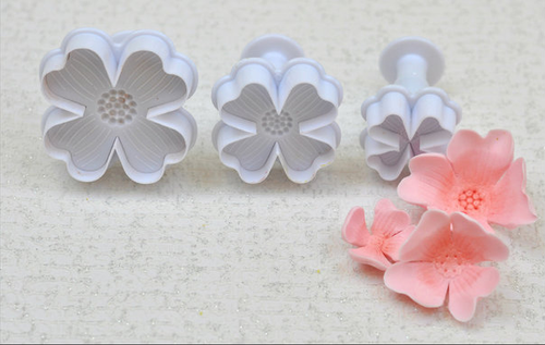 Cute Flower  Plunger Set 3pc