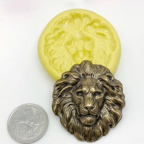 XL Lion Head Mold Silicone