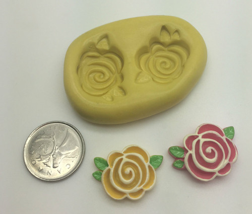 Rose Flower Silicone Mold set