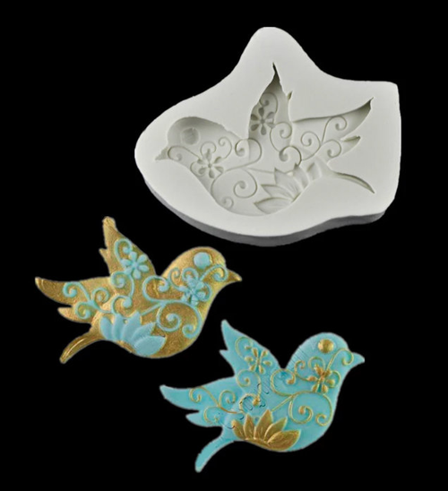 Bird Fancy Mold  PM369