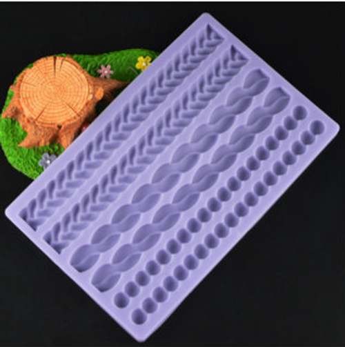 Rope  Silicone Mold Set- pm129