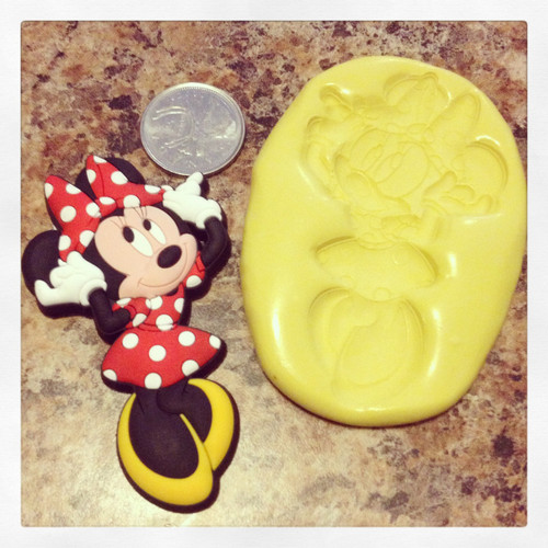 Minnie Mouse Xl Full Body Mold Silicone
