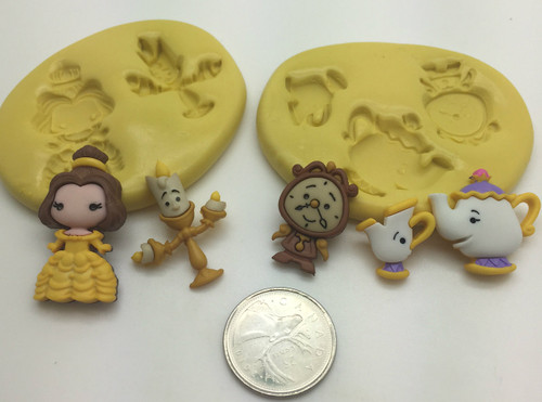 Beauty  Silicone Mold Set