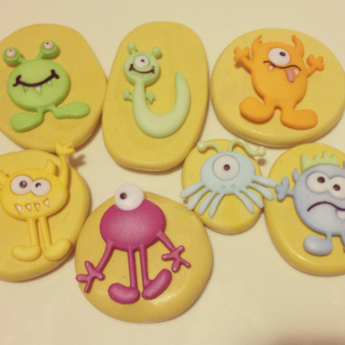 Monster Set Molds Silicone